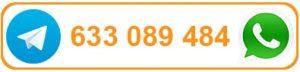 WhatsApp o Telegram 633 089 484
